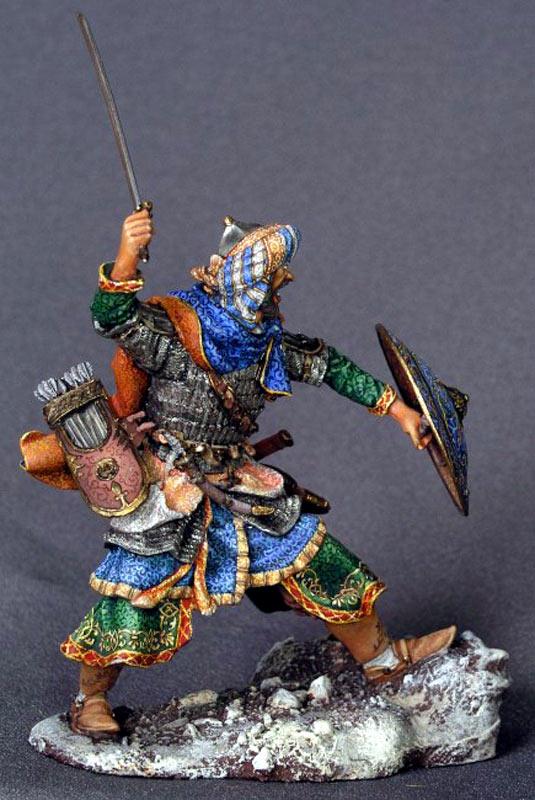 Фигурки: Воин-сарацин, XI-XIV вв., фото #5