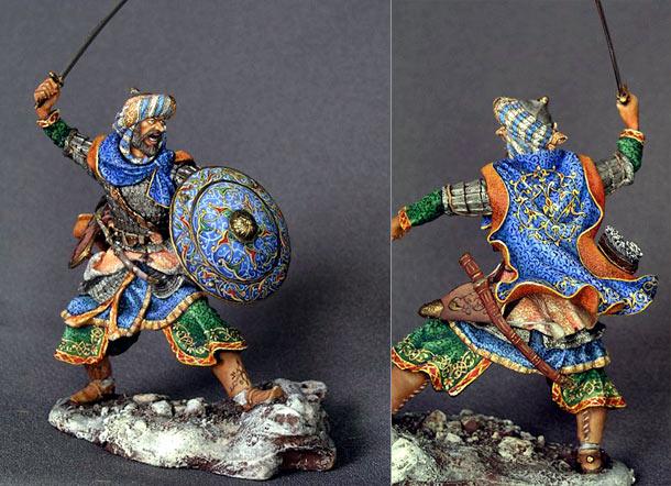 Фигурки: Воин-сарацин, XI-XIV вв.