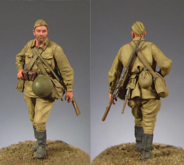 Фигурки: Советский пехотинец (1941 г.)
