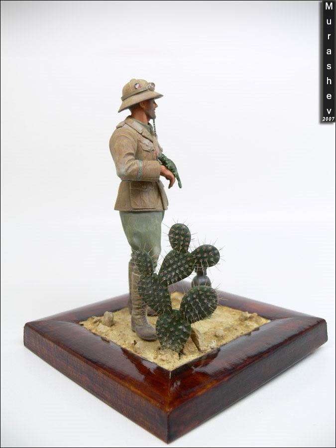 Фигурки: Танкист Африканского корпуса, фото #3