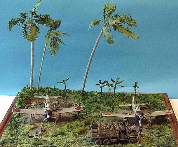Диорамы и виньетки: Рабаул. Трофейная команда, 1944 год