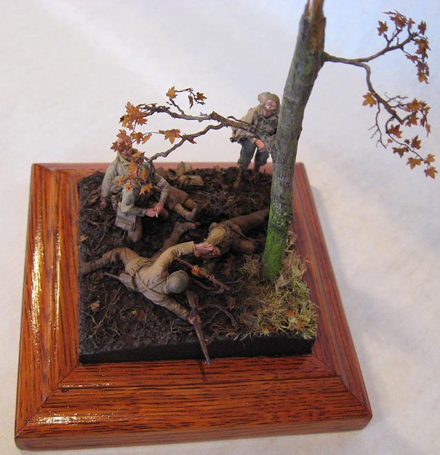 Диорамы и виньетки: Хюртгенский лес, фото #13