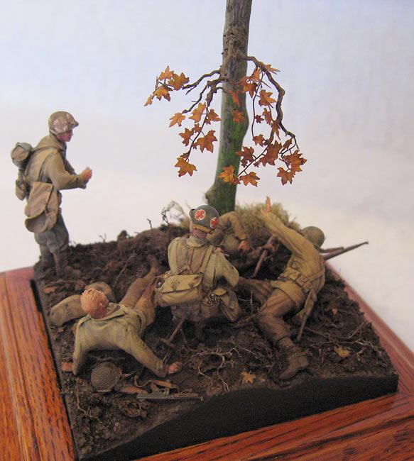 Диорамы и виньетки: Хюртгенский лес, фото #14