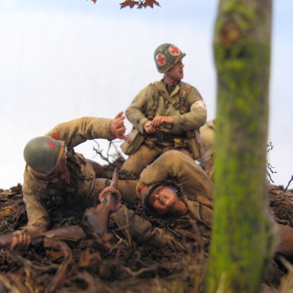 Диорамы и виньетки: Хюртгенский лес, фото #3