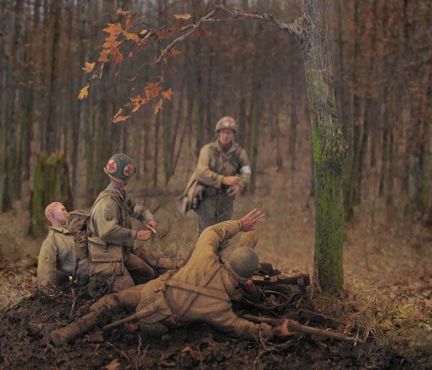 Диорамы и виньетки: Хюртгенский лес