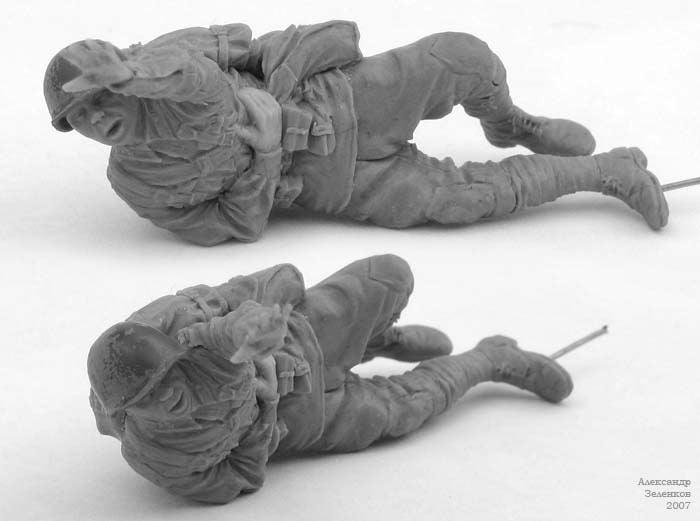 Скульптура: Захлебнувшаяся атака (4), фото #4