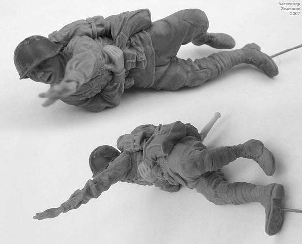 Скульптура: Захлебнувшаяся атака (4)