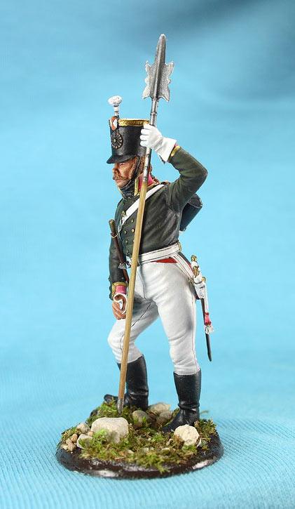 Фигурки: Унтер-офицер русской пехоты, Смоленский полк, 1805 г., фото #3