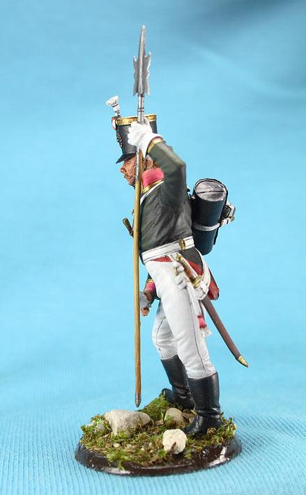 Фигурки: Унтер-офицер русской пехоты, Смоленский полк, 1805 г., фото #4