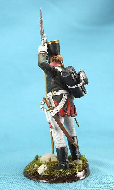 Фигурки: Унтер-офицер русской пехоты, Смоленский полк, 1805 г., фото #5