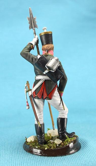 Фигурки: Унтер-офицер русской пехоты, Смоленский полк, 1805 г., фото #6