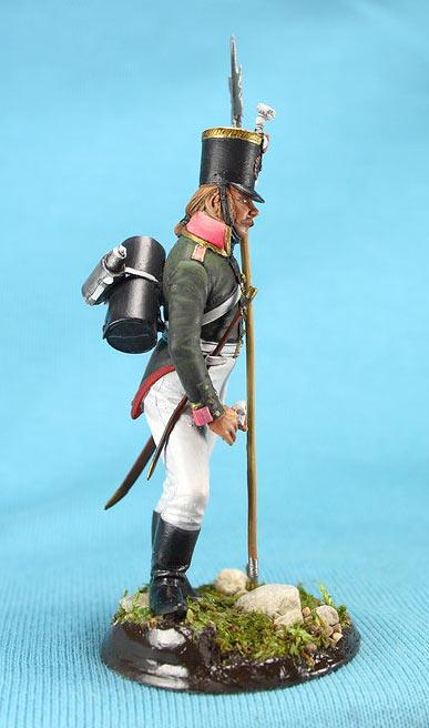 Фигурки: Унтер-офицер русской пехоты, Смоленский полк, 1805 г., фото #8