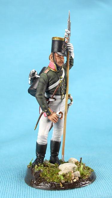 Фигурки: Унтер-офицер русской пехоты, Смоленский полк, 1805 г., фото #9