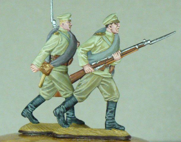 Разное: Русская пехота, 1914г.