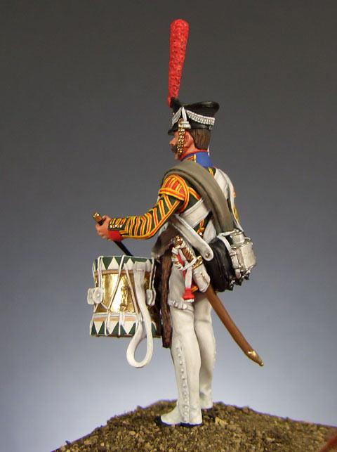 Фигурки: Ротный барабанщик Л-Гв. Семёновского полка (Россия, 1812 г.), фото #3
