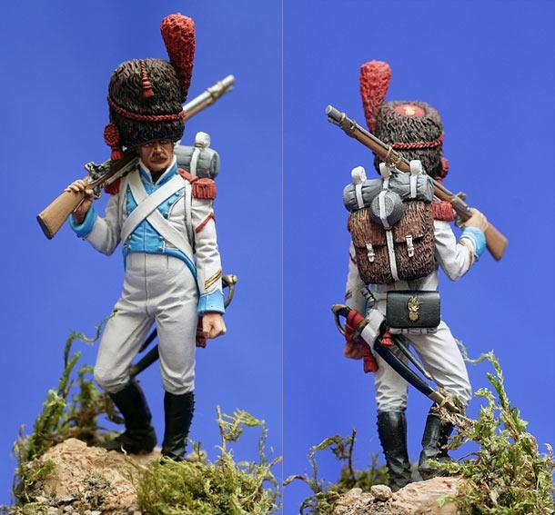 Фигурки: Гренадёр линейной пехоты Неаполитанского королевства, 1811-15
