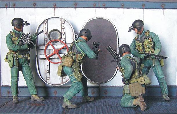 SEAL team 8 | Диорамы и виньетки | Галерея на Diorama ru