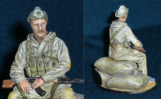 Фигурки: Офицер советского спецназа (Афганистан, 1986-89)