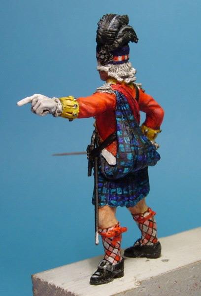 Фигурки: Шотландский офицер, фото #9