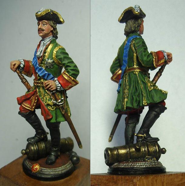 Фигурки: Основатель российской пехоты морской Петр I