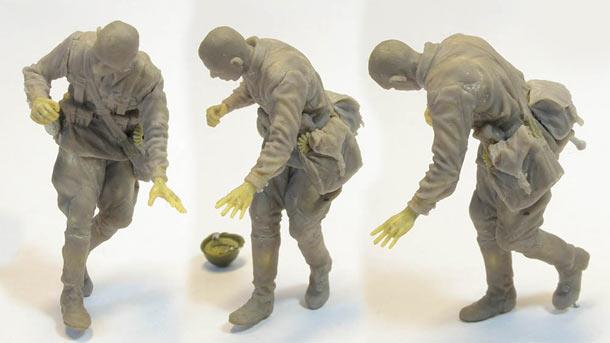 Скульптура: Захлебнувшаяся атака (6)