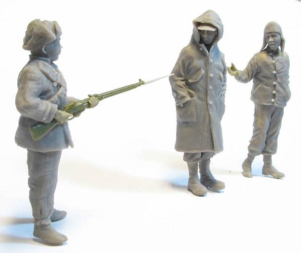 Скульптура: Корея, зима 1950г.