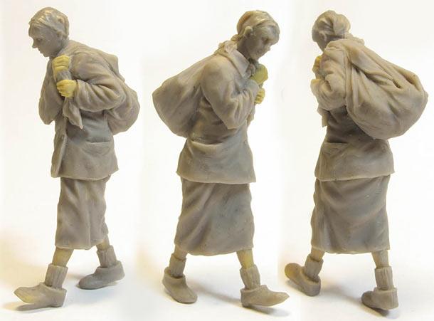 Скульптура: Беженка
