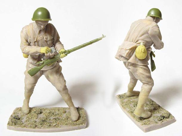 Скульптура: Захлебнувшаяся атака (5)