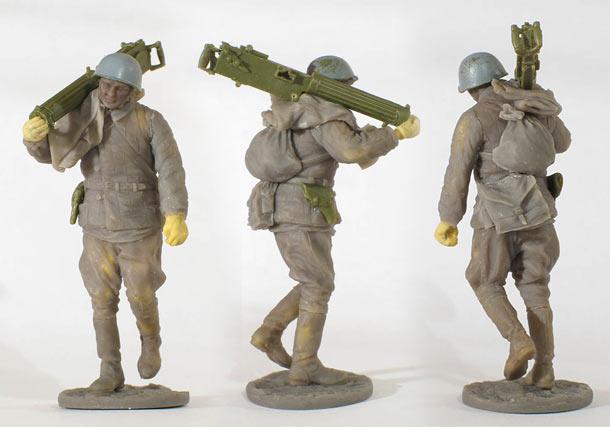 Скульптура: Пулеметчик