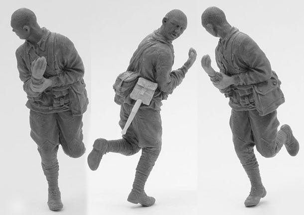 Скульптура: Захлебнувшаяся атака (1)