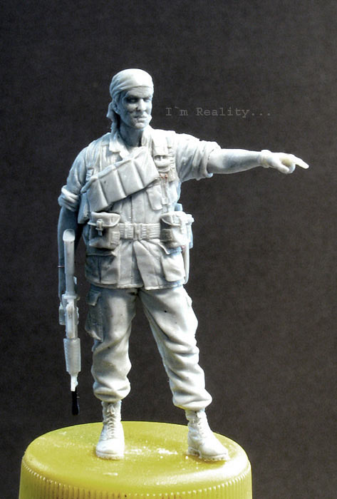 Скульптура: Стафф-сержант, Вьетнам, 1968, фото #1