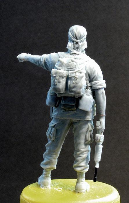 Скульптура: Стафф-сержант, Вьетнам, 1968, фото #4