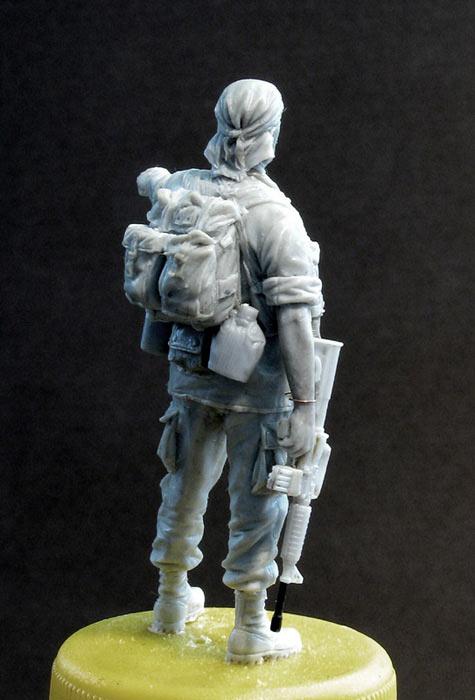 Скульптура: Стафф-сержант, Вьетнам, 1968, фото #5