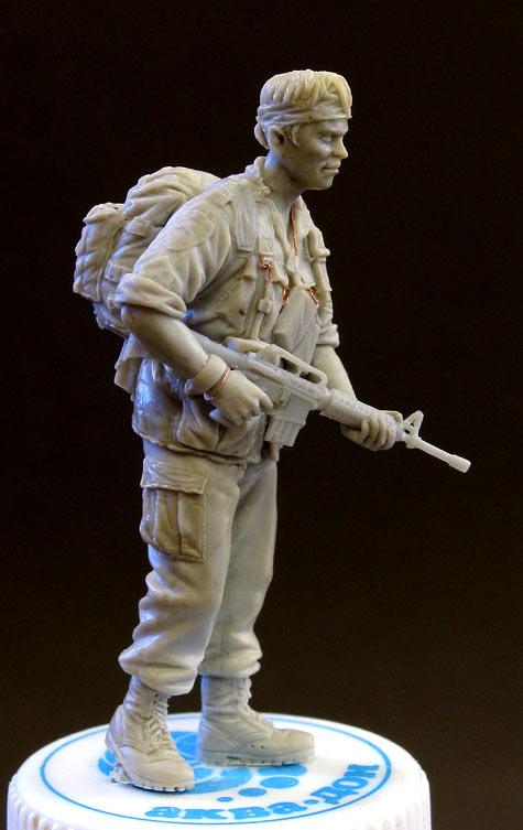 Скульптура: Сержант, Вьетнам, 1968, фото #2