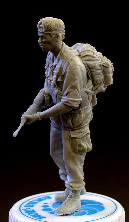 Скульптура: Сержант, Вьетнам, 1968, фото #5