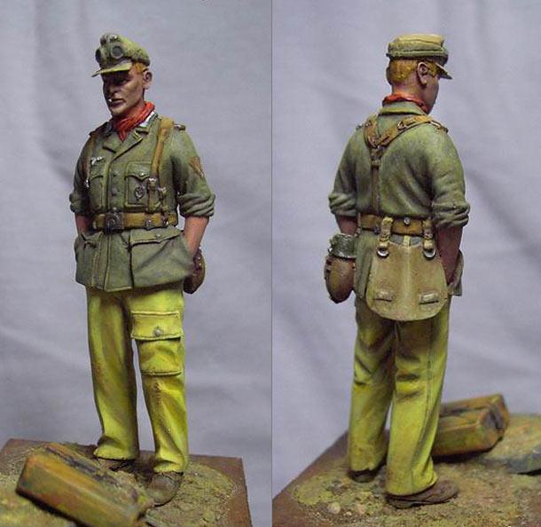 Фигурки: Ефрейтор DAK, Тунис, 1943 г.