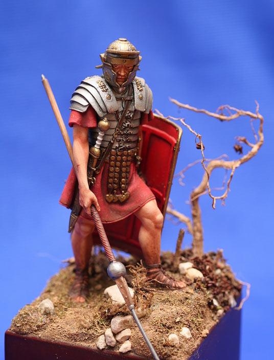 Фигурки: римский легионер, фото #6 следующая фотография вернуться к описанию работы на dioramaru