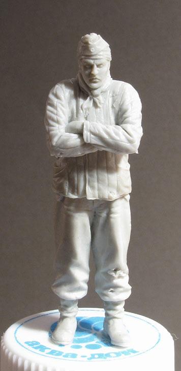 Скульптура: Замерзший танкист, фото #1
