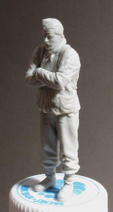 Скульптура: Замерзший танкист, фото #2