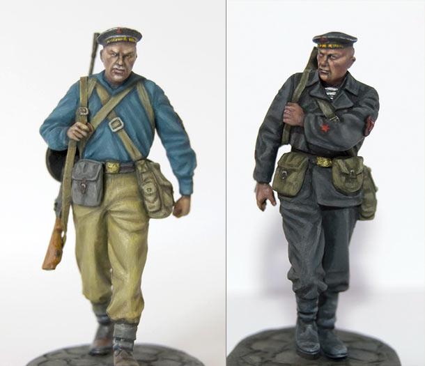 Фигурки: Советские морпехи