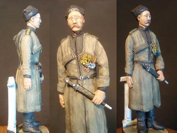 Скульптура: Русский морской пехотинец, 1915