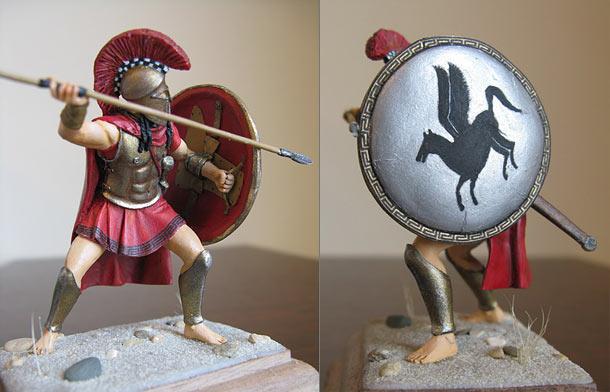 Фигурки: Спартанский гоплит
