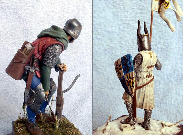 фигурки средневекового периода фото день