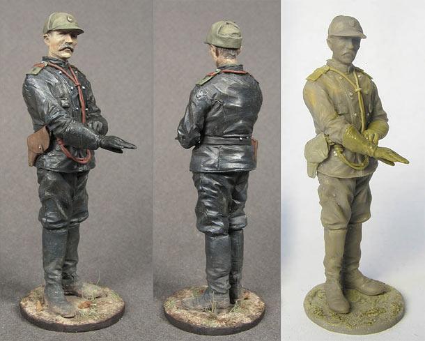 Фигурки: Водитель бронеавтомобиля Русской армии, 1914-1917