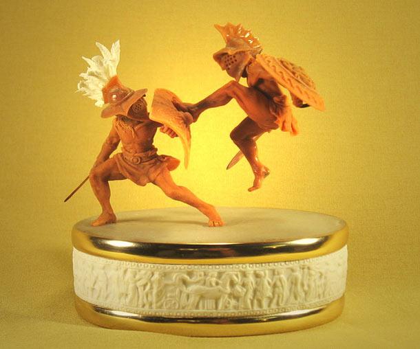 Скульптура: Вальс гладиаторов