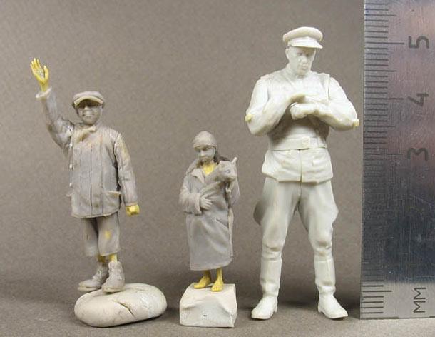 Скульптура: Дети войны