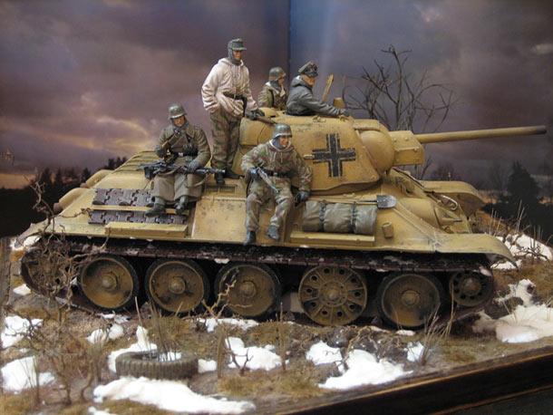 Диорамы и виньетки: На службе Вермахта