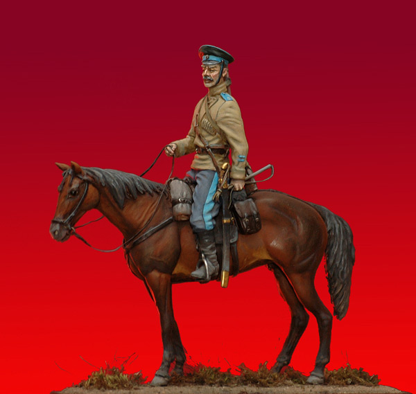 Cossack, 1st Orenburg Cossacks regt., 1919 Figures Gallery o…