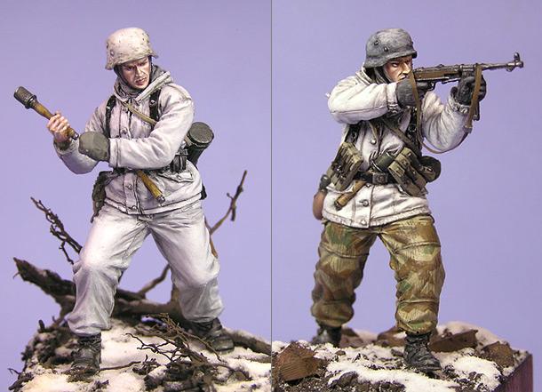 Фигурки: Немецкие пехотинцы