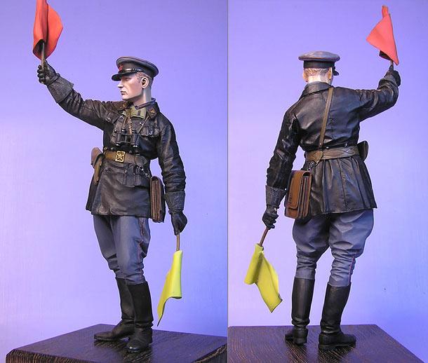 Фигурки: Младший лейтенант автобронетанковых войск, 1941